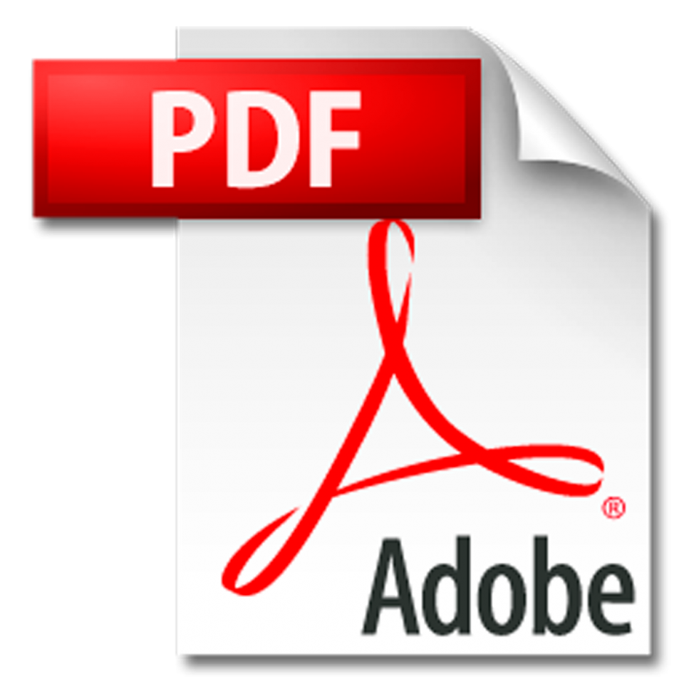 Adobe PDF logo clisk it to see the 2015 PDF flyer